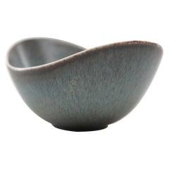 "Gunnar Nylund ""ARO"" Medium Stoneware Bowl by Rorstrand, Sweden, 1960s"