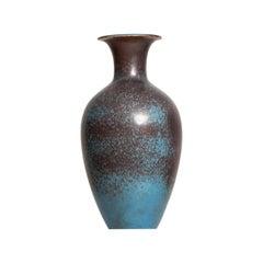 Gunnar Nylund Ceramic Floor Vase Produced by Rörstrand in Sweden