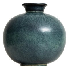 Gunnar Nylund Ceramic Vase by Rörstrand in Sweden