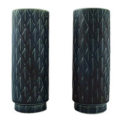 Gunnar Nylund for Rörstrand, a Pair of Eterna Vases, 1960s