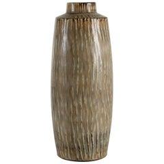 Gunnar Nylund for Rörstrand Huge Rubus Stoneware Floor Vase, Scandinavian, 1950s