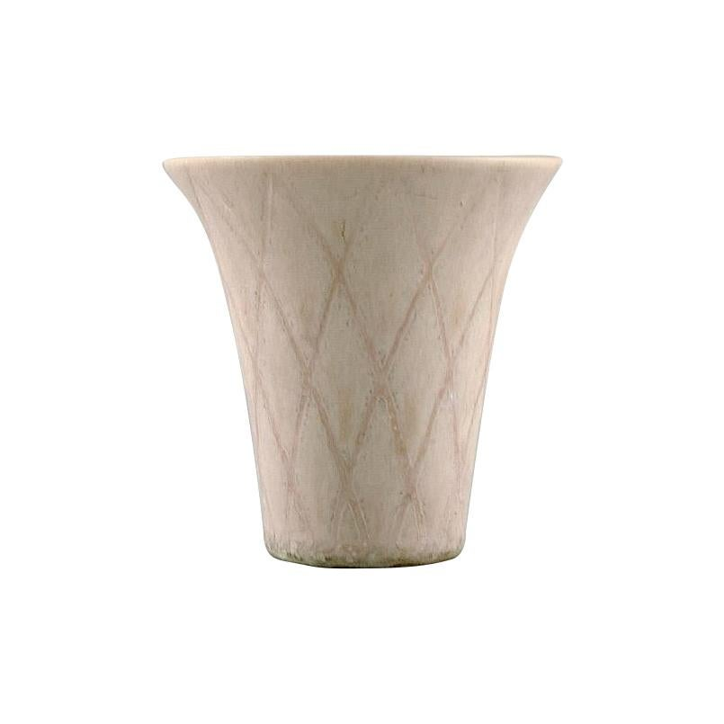 Gunnar Nylund for Rörstrand, Miniature Vase in Glazed Ceramics, 1950s