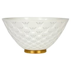 Gunnar Nylund for Rörstrand Porcelain Crown Window Bowl