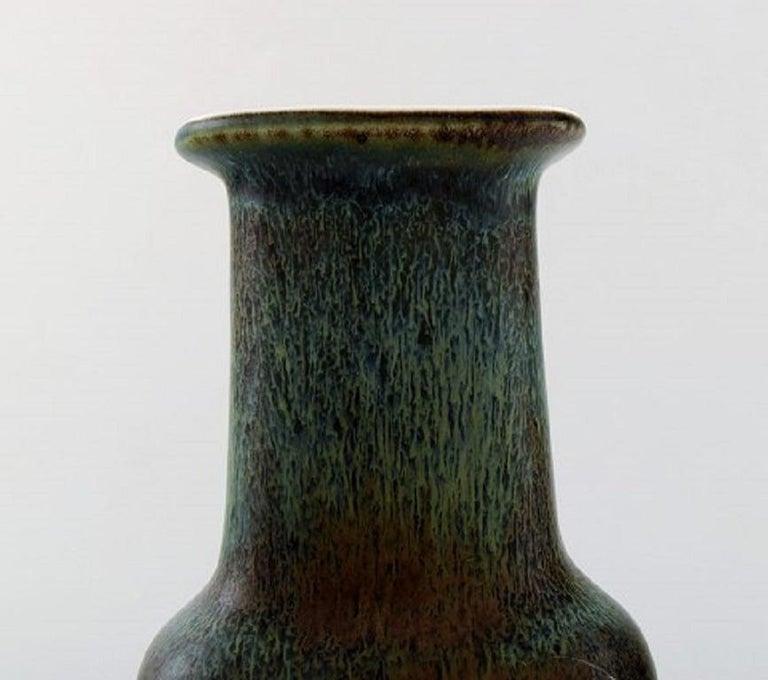 Scandinavian Modern Gunnar Nylund for Rørstrand / Rorstrand Vase in Glazed Ceramics Mid-20th Century For Sale