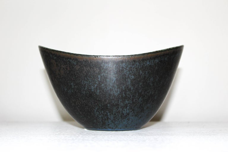 Scandinavian Modern Gunnar Nylund Large Ceramic Bowl for Rörstrand For Sale