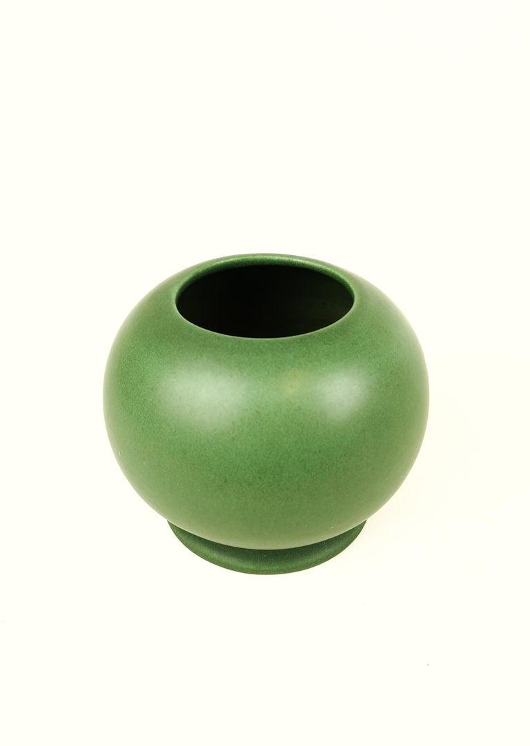 Swedish Gunnar Nylund Rörstrand Art Deco Plano Vase For Sale