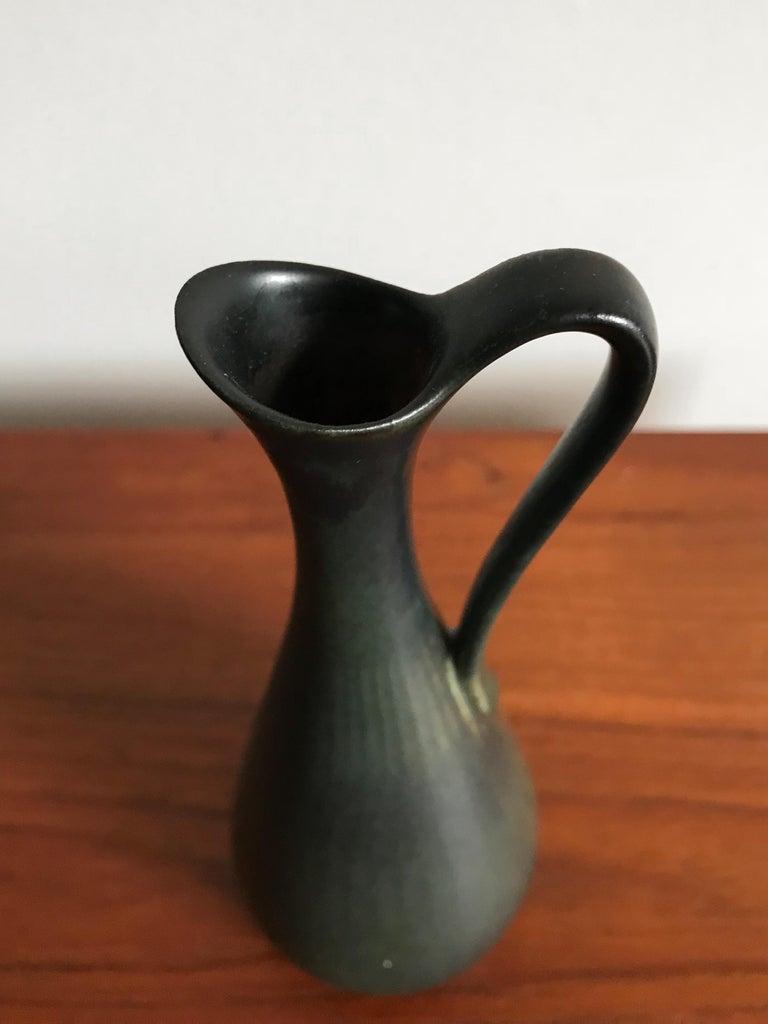 Gunnar Nylund Scandinavian Midcentury Set Stoneware Vases for Rörstrand, 1950s For Sale 3