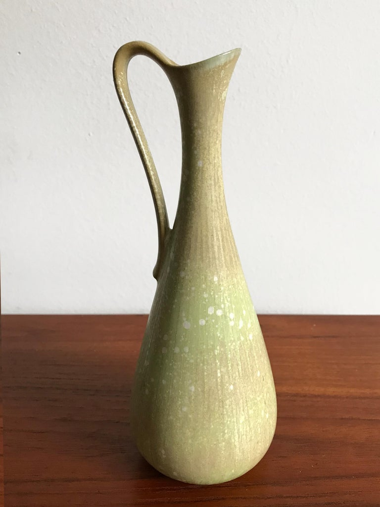 Gunnar Nylund Scandinavian Midcentury Set Stoneware Vases for Rörstrand, 1950s In Good Condition For Sale In Modena, IT