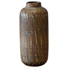 Gunnar Nylund, Small Vase, Glazed Stoneware, Rörstand, Sweden, 1950s