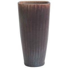 """Gunnar Nylund Stoneware """"GN ARH"""" Vase for Rörstrand, Sweden, 1950s"""