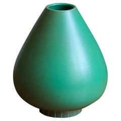 Gunnar Nylund, Vase, Glazed Stoneware, Rörstand, Sweden, 1950s