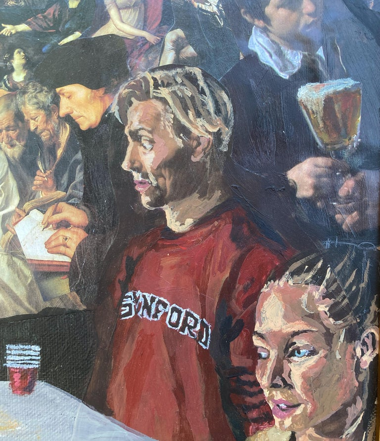 Atrocity Exhibition - Painting by Gunner Dongieux