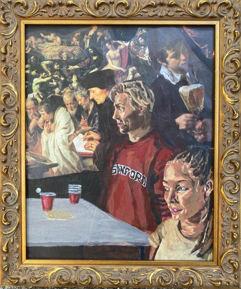 Gunner Dongieux Figurative Painting - Atrocity Exhibition