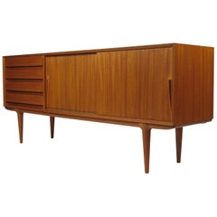 Gunni Omann for Omann Jun Danish Teak Credenza