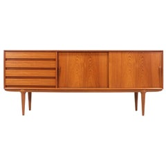 Gunni Omann Model-18 Teak Credenza for Omann Jun