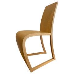 Gunter Konig Birch Artist Built Chair 12/12, 2001