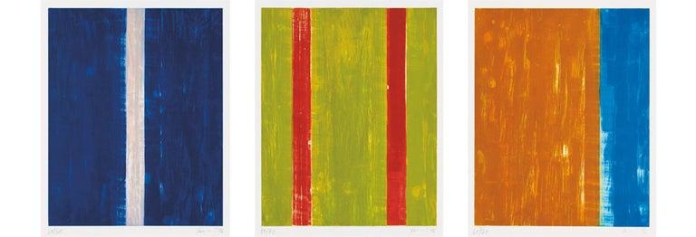 Günther Förg Abstract Print - Coda