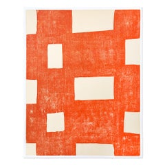 Untitled, Woodcut, Abstract Art, Contemporary Art, Minimalism, 21st Century