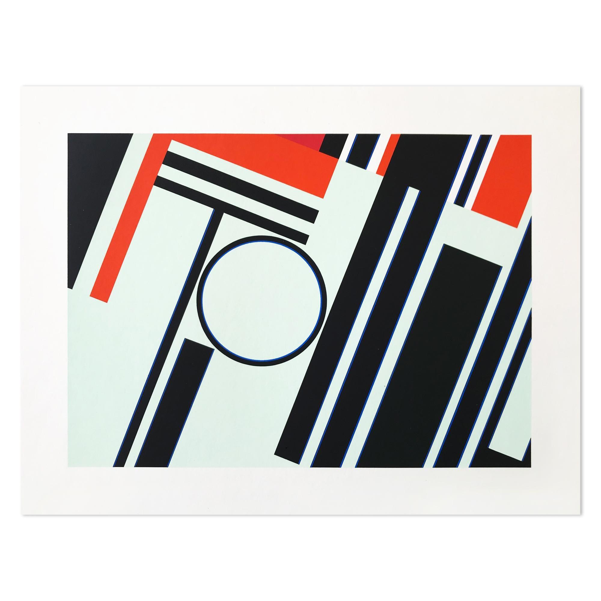 Kreis und Wirkung, Geometric Abstraction, Abstract Art, Constructivism