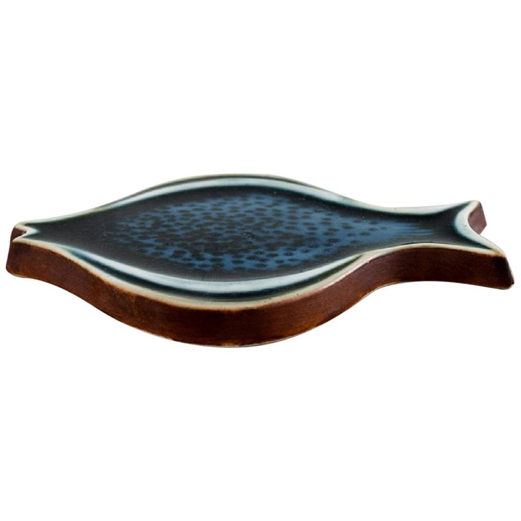 Gunvor Olin-Grönqvist for Arabia, Fish in Glazed Ceramics