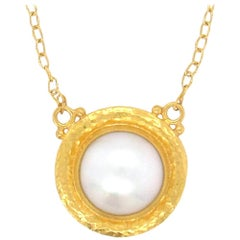 Gurhan Mabe Pearl Pendant Necklace