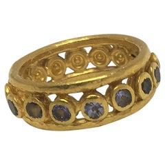 Gurhan Tanzanite Band Ring
