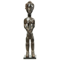 Guro Female Figure Ivory Coast West African Tribal Art Cote d'Ivoire Elegant