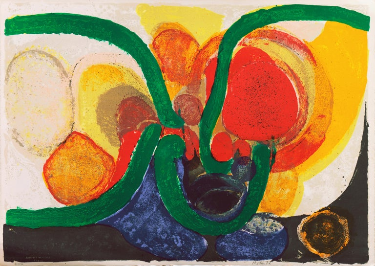 Organic Abstract Composition For Sale 1