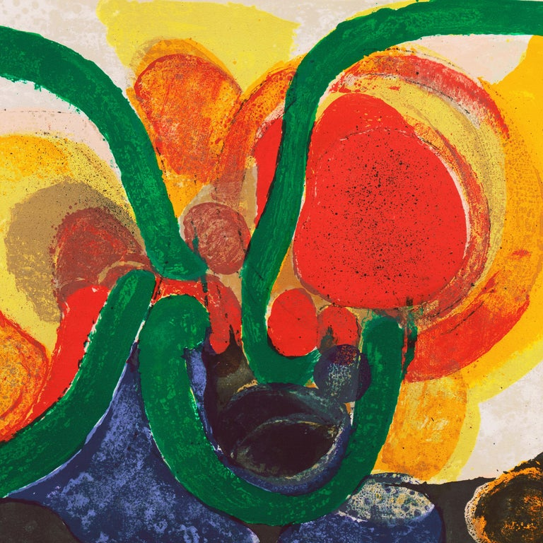 Organic Abstract Composition For Sale 4