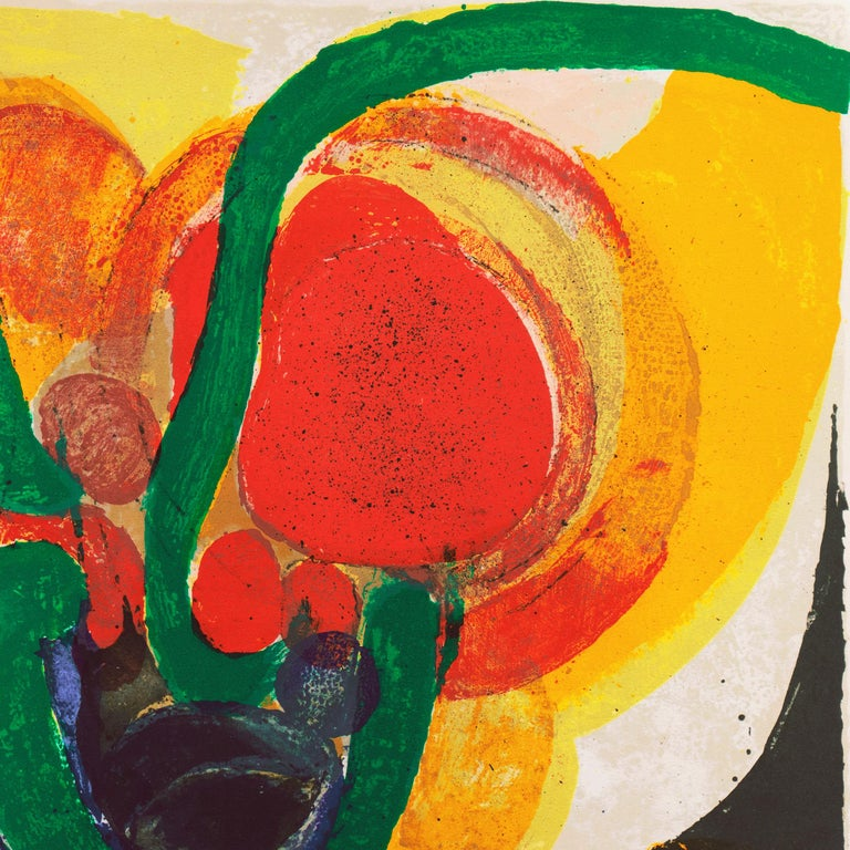 Organic Abstract Composition For Sale 5