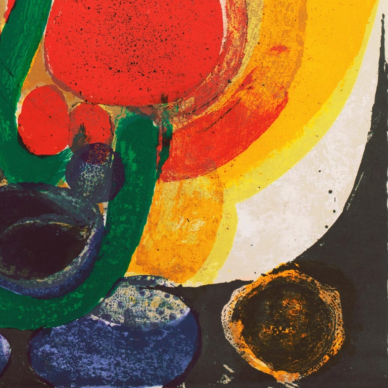 Organic Abstract Composition For Sale 6