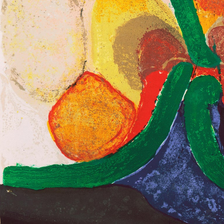 Organic Abstract Composition For Sale 7