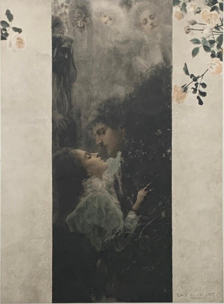 Gustav Klimt Figurative Print - Allegorien, volumes 1-7