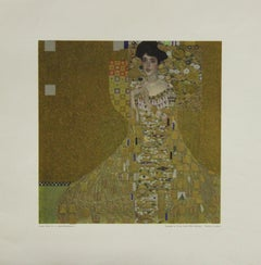 Metallic Poster-Adele Bloch-Bauer I. Printed in Austria