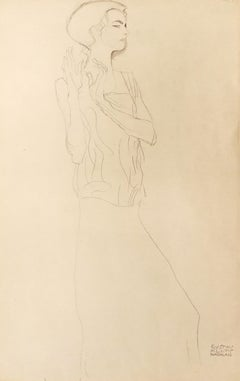 Sketch for a Frieze  - Original Collotype Print - 1919