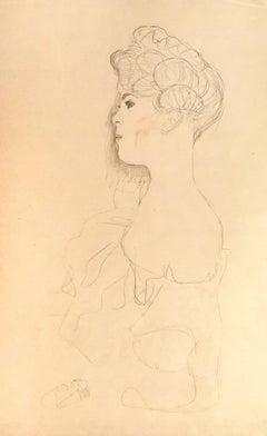 Sketched Portrait - 1910s