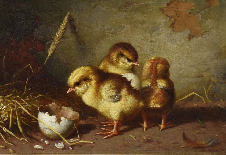 Antique Baby Chick