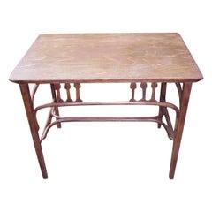 Gustav Siegel, for Jacob & Josef Kohn, a Vienna Secessionist Bentwood Table