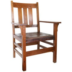 Gustav Stickley Chair