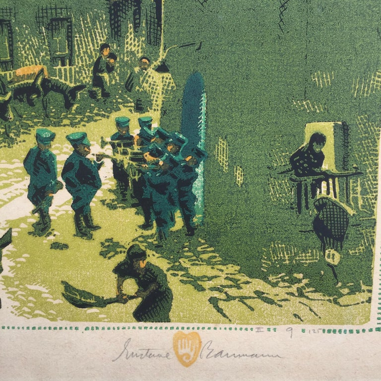 MORNING IN MEXICO - Print by Gustave Baumann