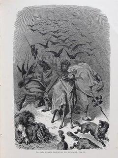 Histoire du Capitaine Castagnette - Rare Book Illustrated by G. Doré - 1879