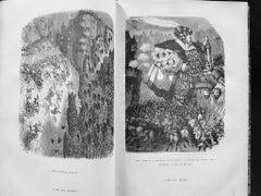 Gargantua - Rare Book Illustrated by Gustave Dorè - 1854