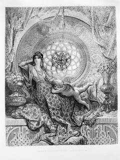 Roland Furieux - Rare Book Illustrated by Gustave Dorè - 1879