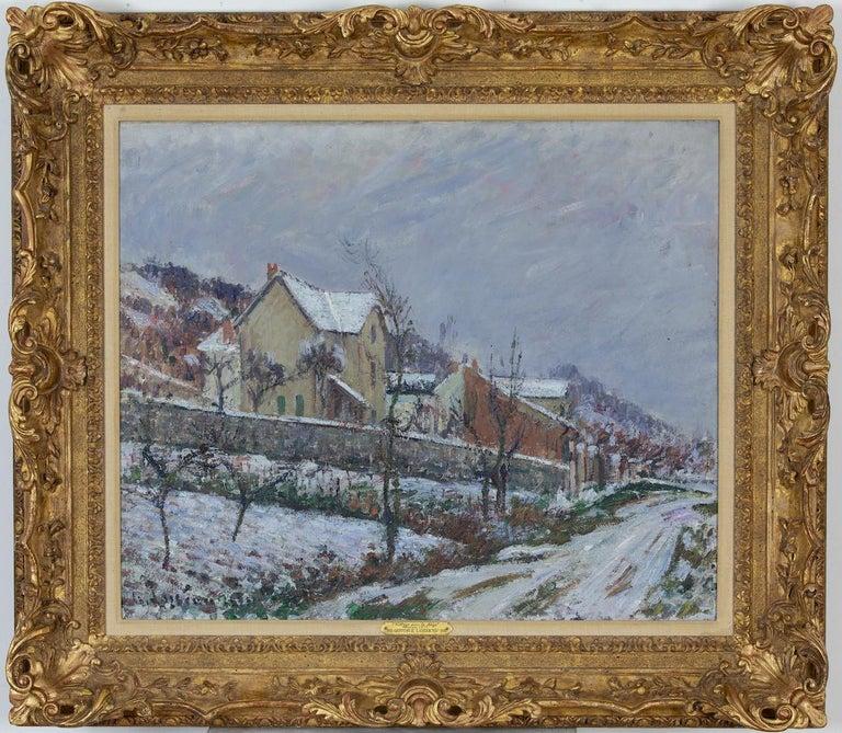 La Neige en 1911 by Gustave Loiseau For Sale 1