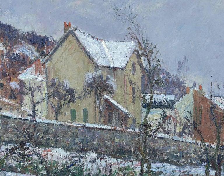 La Neige en 1911 by Gustave Loiseau For Sale 3