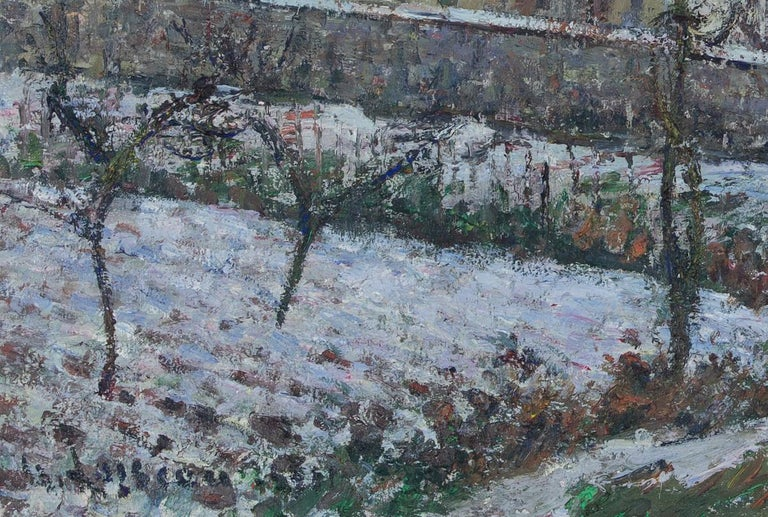 La Neige en 1911 by Gustave Loiseau For Sale 4