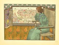 Solveig - Original Lithograph by G.-M. Stevens - 1898
