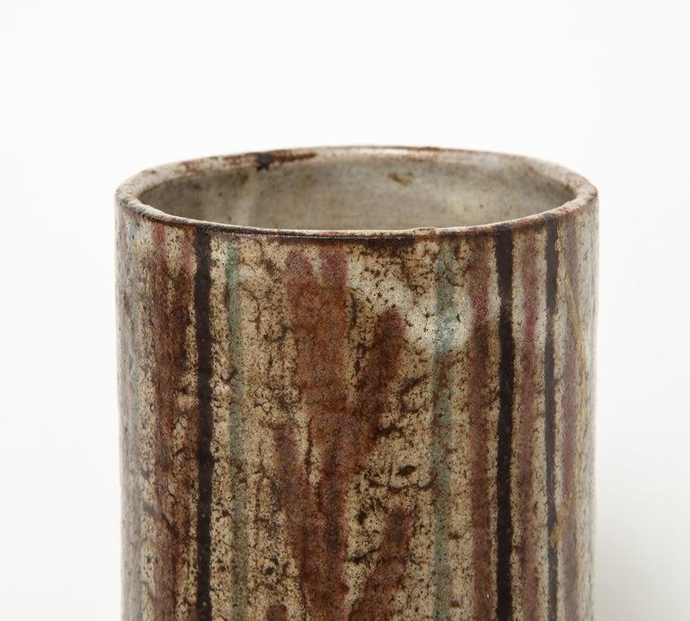 20th Century Gustave Raynaud Ceramic Mug, France, circa 1960 For Sale