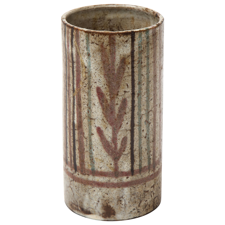 Decorative Ceramic Jug by Gustave Reynaud, Vallauris, France, c. 1960