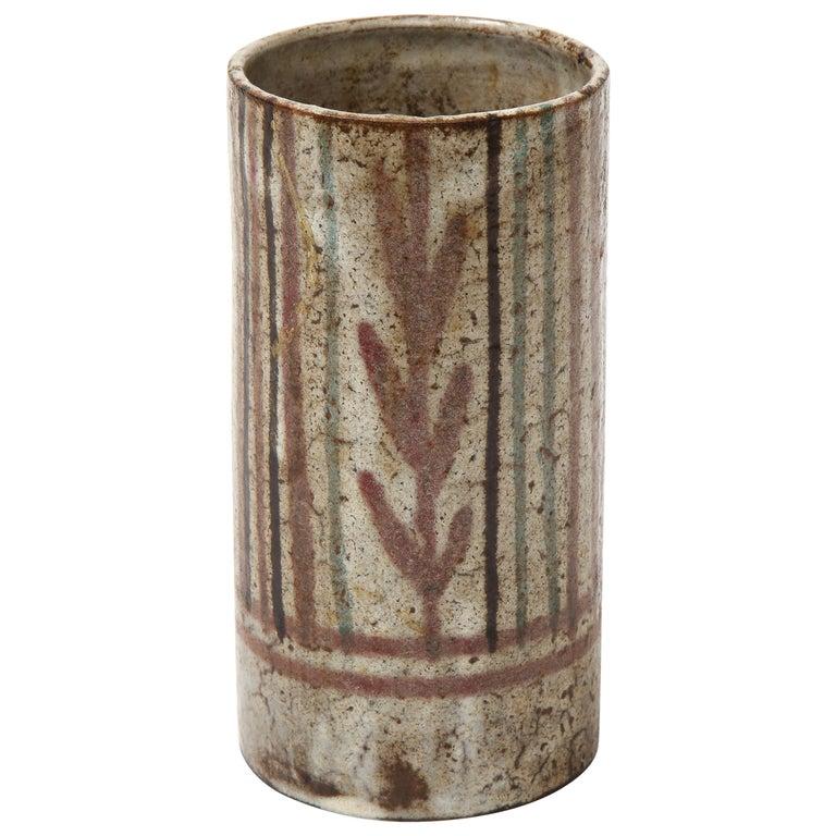 Gustave Raynaud Ceramic Mug, France, circa 1960 For Sale